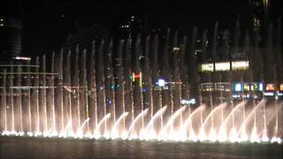 Dubai Fountain (African Song)