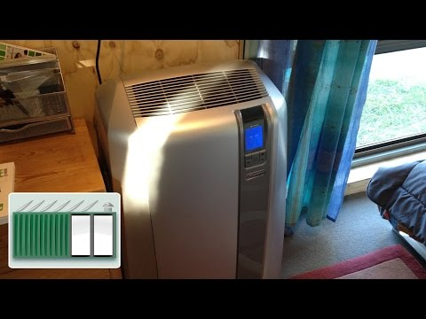 Shipping Container House - Solar powered air conditioning