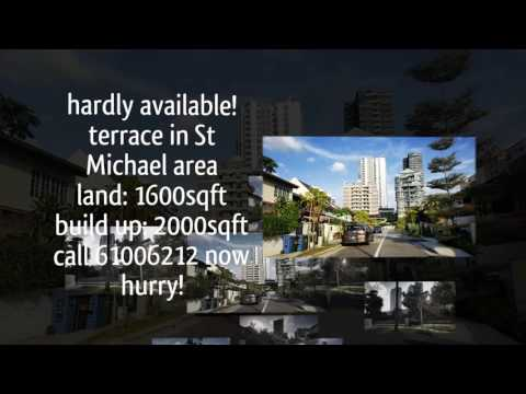 Irresistible 999Yrs singapore landed for sale (St Michael Terrace Video)