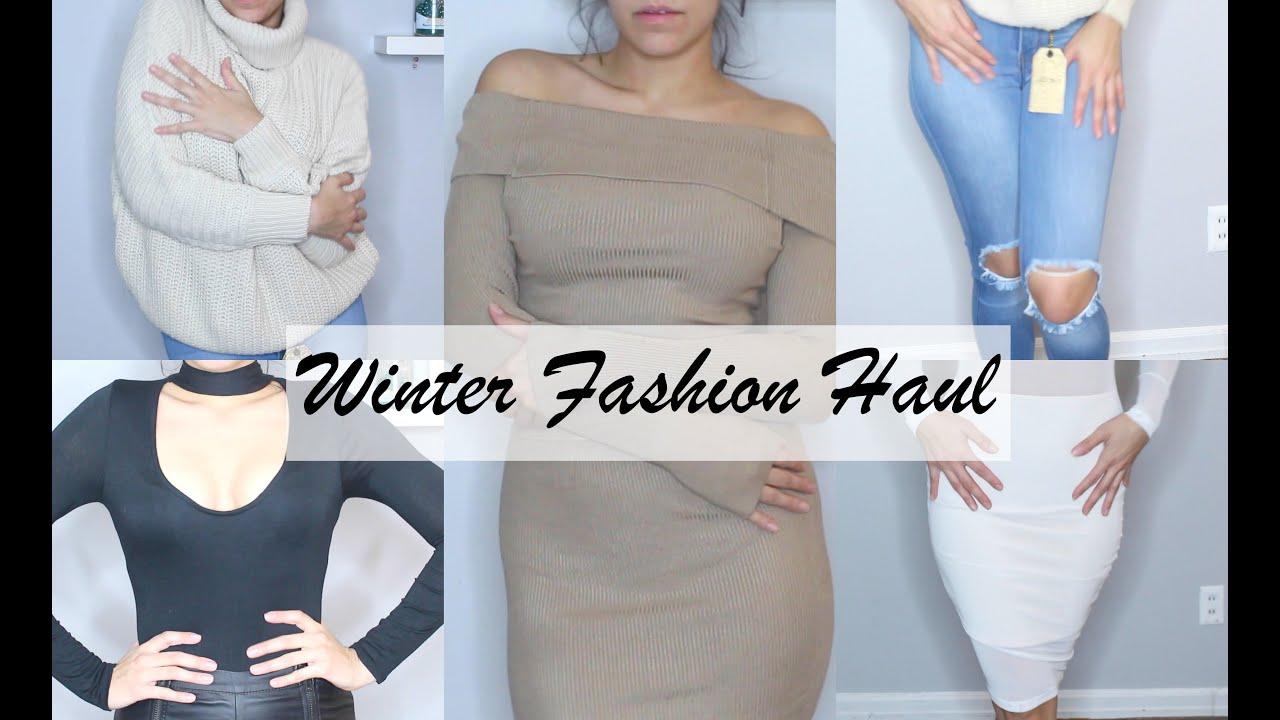 Small Winter Fashion Haul 2016