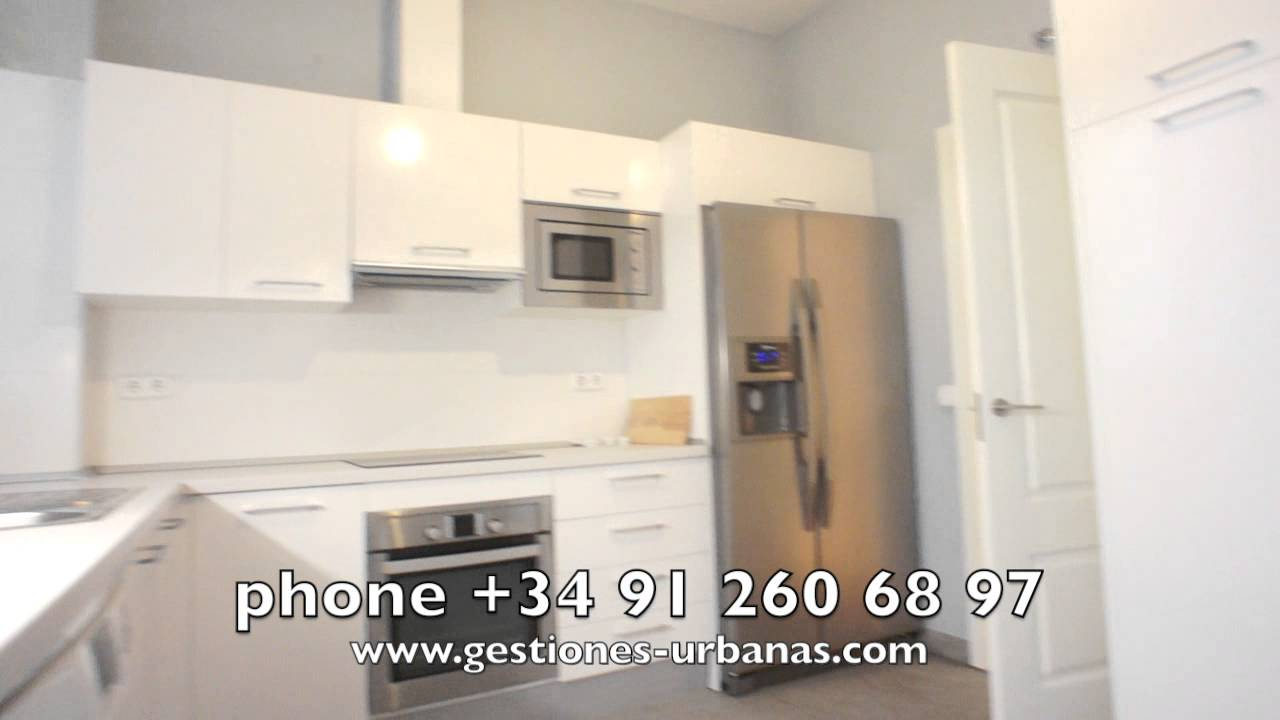 M 41 00477 alquiler piso reformado en madrid barrio salamanca 3 dormitorios youtube - Alquiler piso humanes de madrid ...