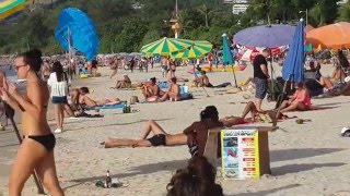 Nice Patong Beach video. 19.1.2016,Phuket,Thailand(NICE WEATHER,PLENTY PEOPLE PATONG BEACH HIGH SEASON 19.1.2016., 2016-01-19T21:00:51.000Z)