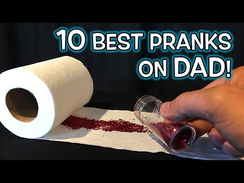 10 BEST Fathers Day PRANKS & GAG GIFT Ideas!