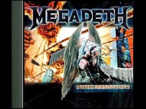 Megadeth 2007 United Abominations *Full Album*