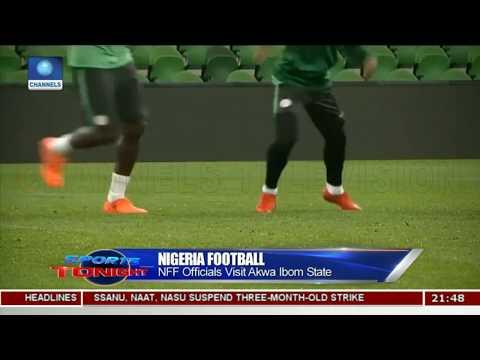 Nigeria Football: NFF Officials Visit Akwa Ibom State |Sports Tonight|