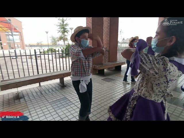 6°A de Pumahue Chicauma realiza su baile de la patria, representando el Centro con la Guaracha