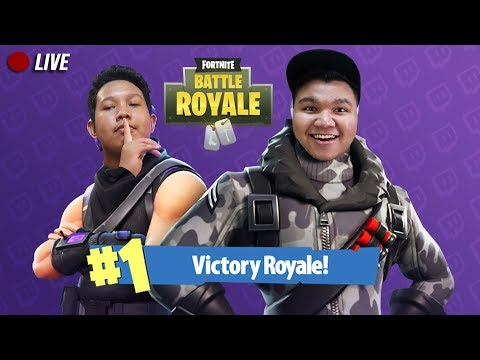 🔴LIVE | 1ST GAME! + 1ST WIN VICTORY ROYALE! - (Fortnite: Battle Royale) Malaysia w/ Nabil