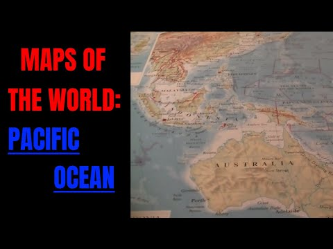 [ASMR] Maps of the World. Part 4: Pacific Ocean