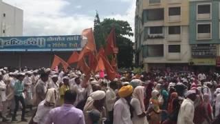 Palkhi Procession Hadapsar Pune 20 June 2017.