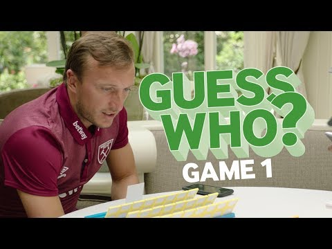 Guess Who? #1 - Noble and Cresswell get very competitive!