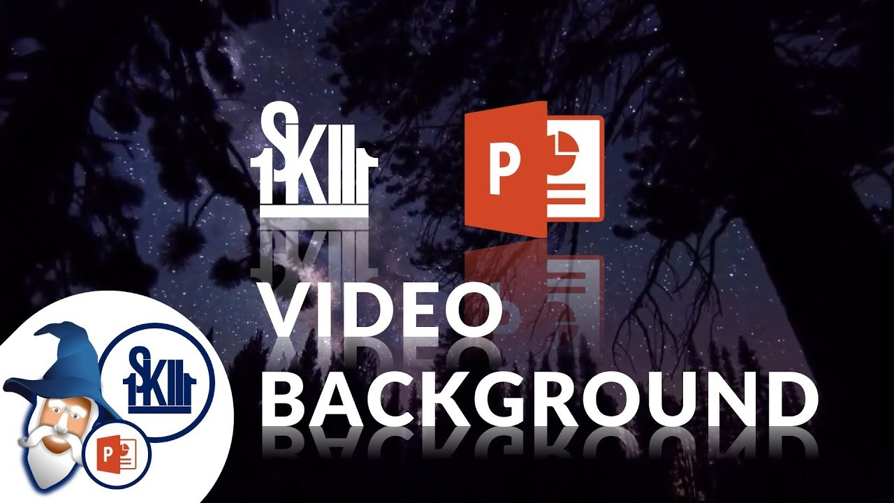 How To Add Video Background In PowerPoint (updated) - YouTube
