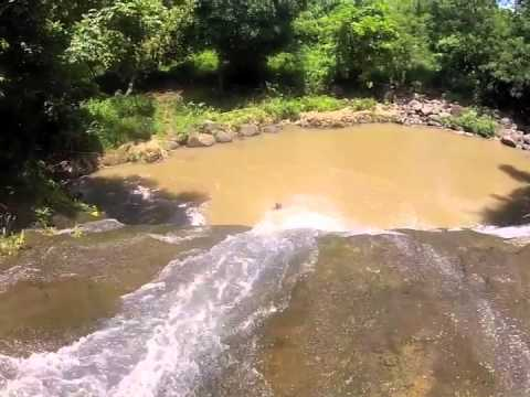 Basse Waterfalls, Mount Carmel, Grenada