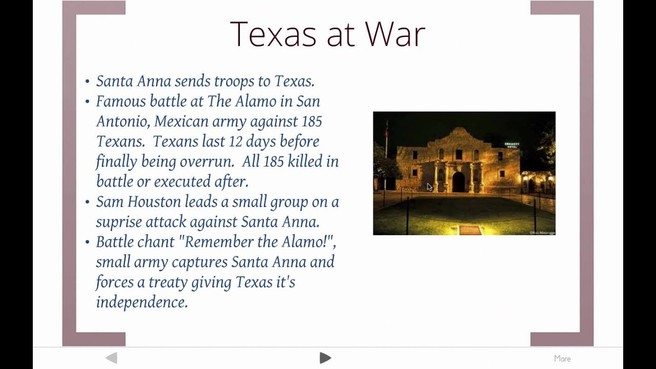 an analysis of the annexation of texas