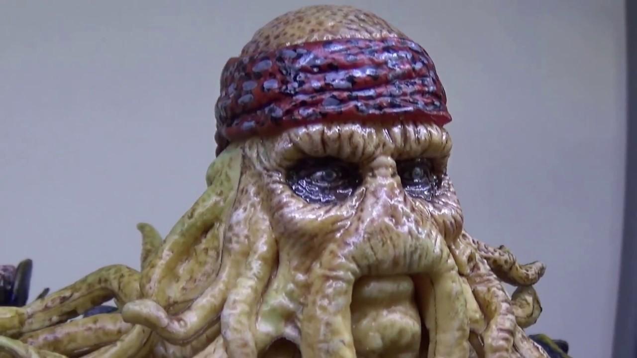 DHL 1//6 XD Toys XD001 Pirates Caribbean Captain Octopus Davy Jones Figure