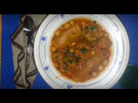 Recette De La Soupe Au Sardine Youtube