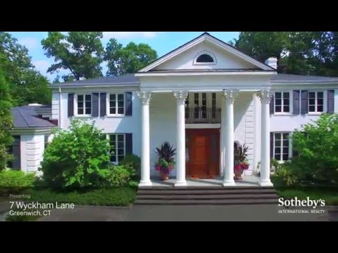 Sotheby's International Waterfront Estate-   7 Wyckham Lane, Greenwich CT