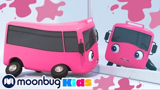 Buster Changes Color!!   Learning Activities for Kids   Learn at Home   Nursery Rhymes   kids songs