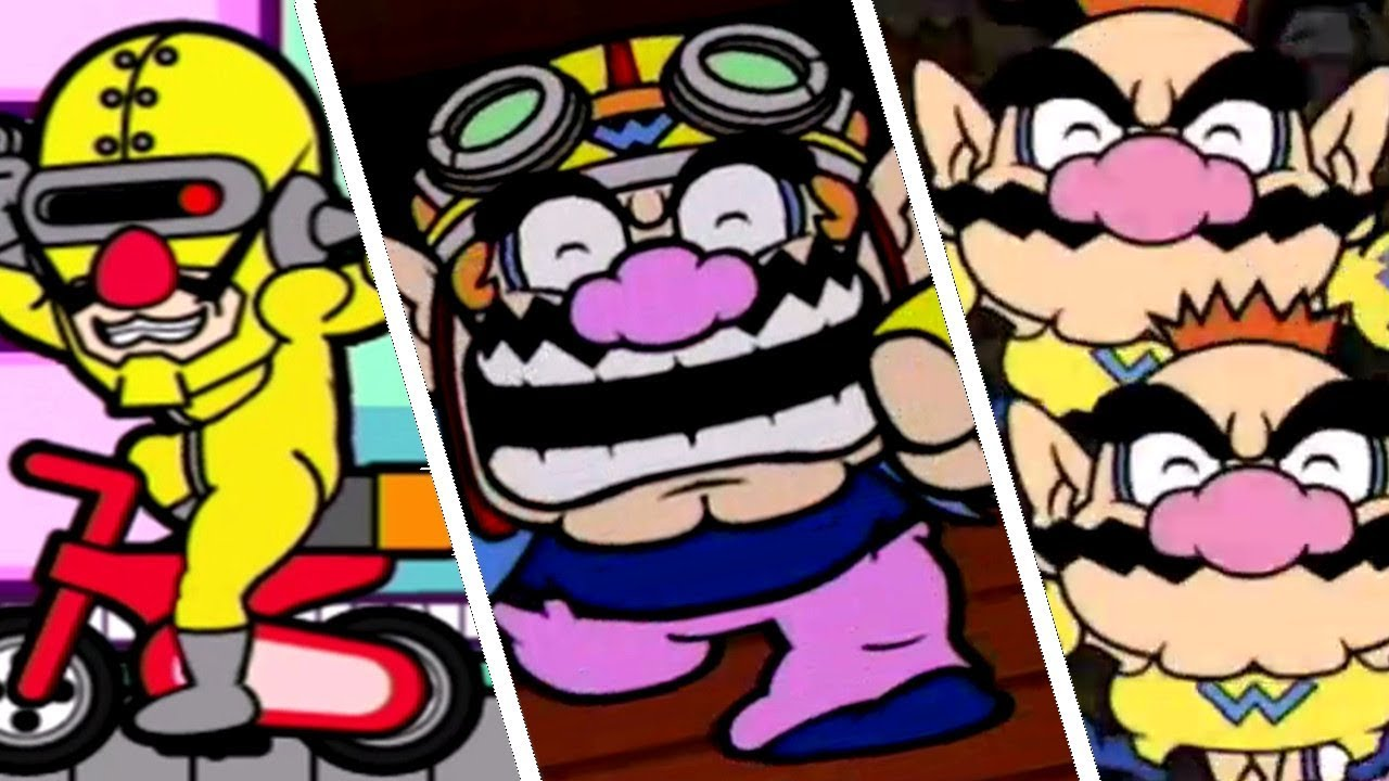 WarioWare: Smooth Moves - All Character Victory & Losing Animations