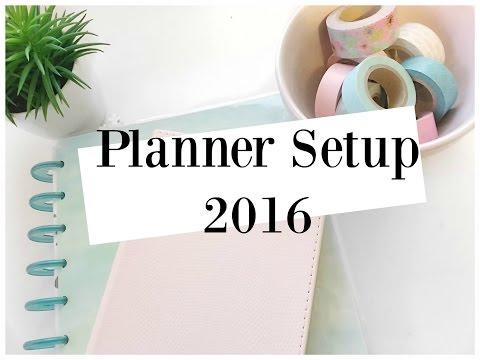 Planner Setup 2016 | AuroraCecilia