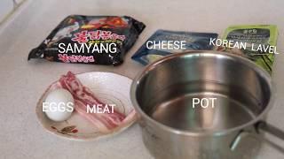 SAMYANG KOREA SPICY FIRE NOODLES &#39Bul dak&#39   various recipes