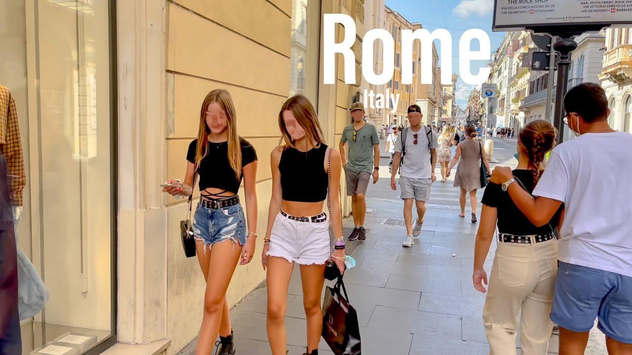 Download Rome, Italy 🇮🇹 - September 2021 - 4K-HDR Walking Tour (▶141min)