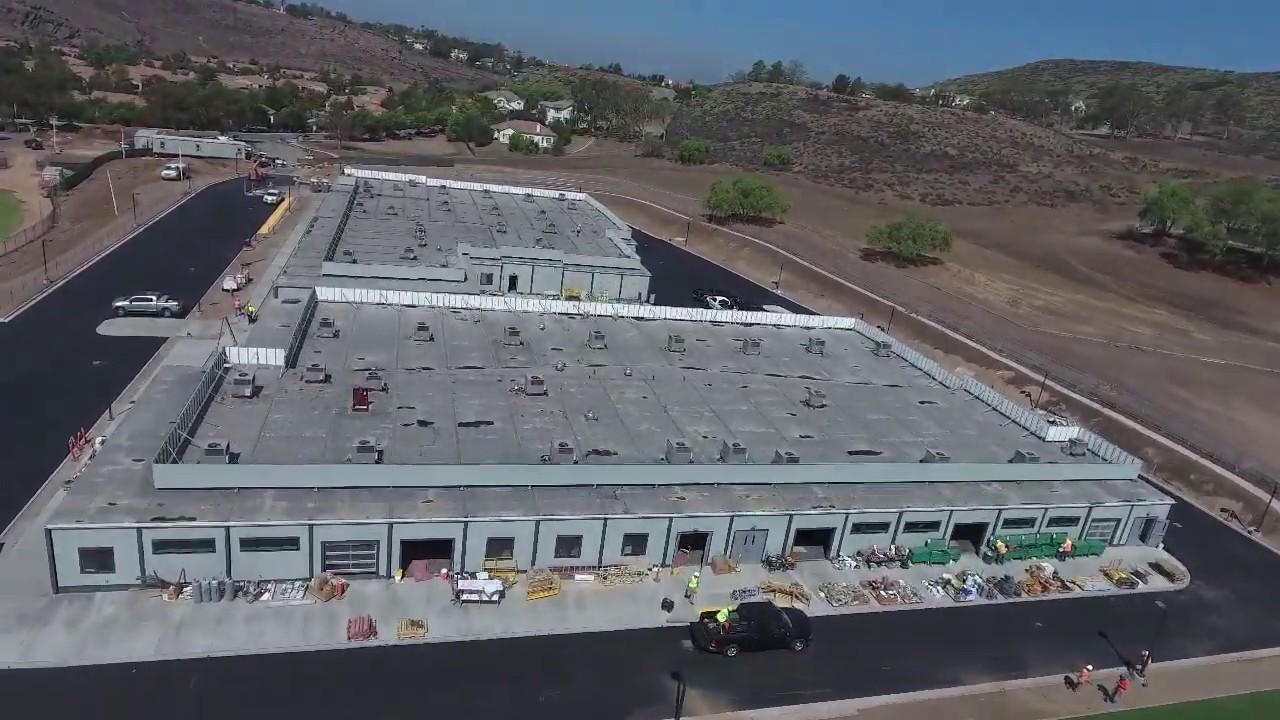 Download Modular Football Facility flyover