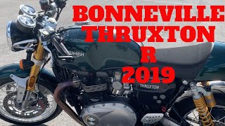 триумф Тракстон. 2019 Triumph Bonneville Thruxton R / Часть 1. Обзор  и тестрайд