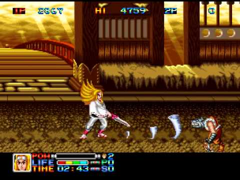 Arcade Longplay [385] Ninja Combat