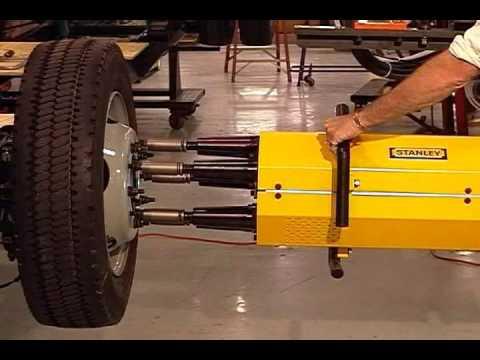 Stanley Multi Spindle Wheelnut Wmv Youtube