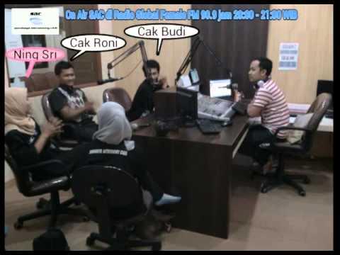 OnAir SAC di Radio Global Female Surabaya.