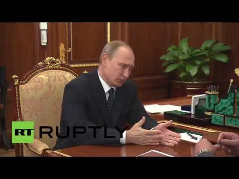 Russia: Putin meets KPRF's Zyuganov and talks about China and US media