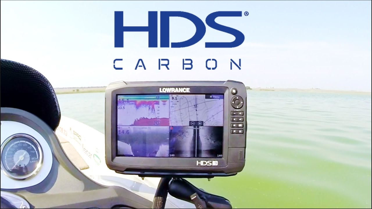 Lowrance HDS Carbon Review by BassCoZa