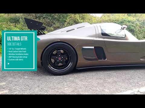 Ultima GTR - For Sale - YouTube