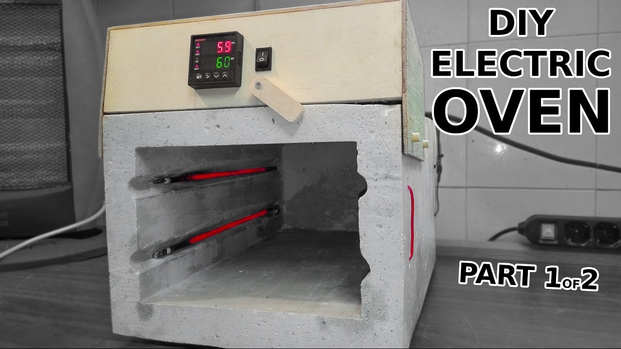DIY Electric Oven With PID Controller. Part 1 of 2 - YouTube