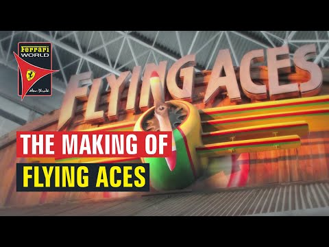 Flying Aces - Now Open at Ferrari World Abu Dhabi