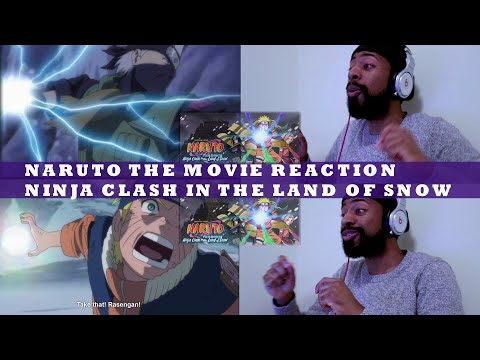 NARUTO THE MOVIE REACTION   Ninja Clash In The Land Of Snow