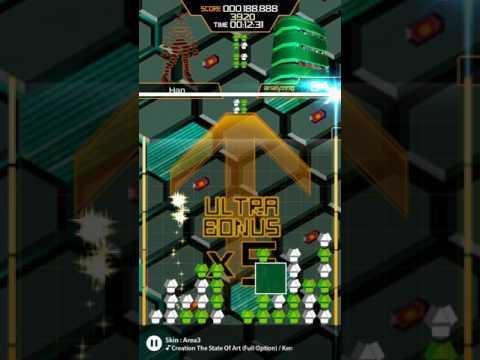 LUMINES Puzzle & Music - Rez Pack (Hard)