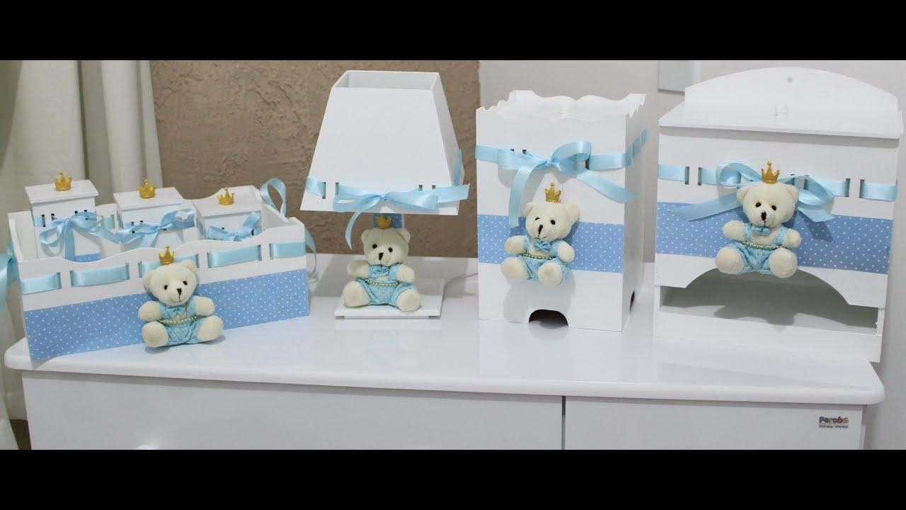 Faça voc u00ea mesma o kit higiene do seu beb u00ea Myla Indiano YouTube -> Como Decorar Kit Higiene Para Bebe Com Perola