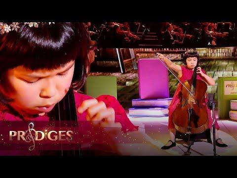 "La jolie Lynn joue la ""Danse Hongroise n°5"" de Brahms - Prodiges 5"