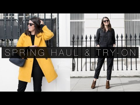 Spring Capsule Wardrobe Haul & Try-On | The Anna Edit