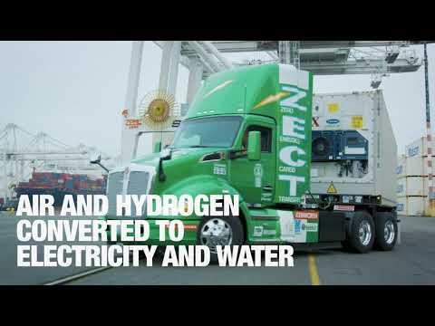 Kenworth Zero Emission Cargo Transport (ZECT)