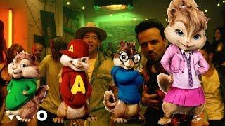 Luis Fonsi - Despacito ft. Daddy Yankee ALVIN Y LAS ARDILLAS/good audio/buen audio