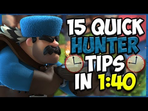 15 QUICK Tips About: Hunter