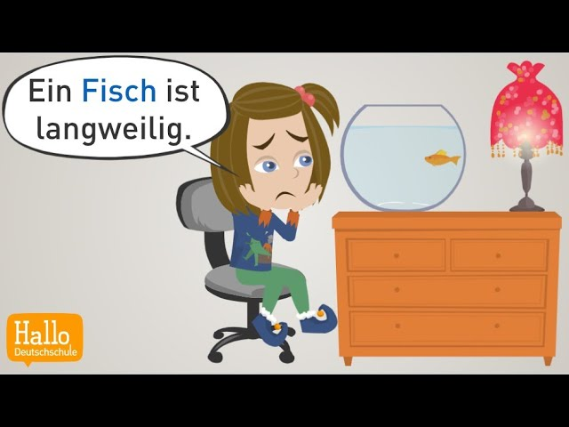 Deutsch lernen | Mama! Kaufst du mir ein Haustier? | Wortschatz, Satzstrukturen & Grammatik