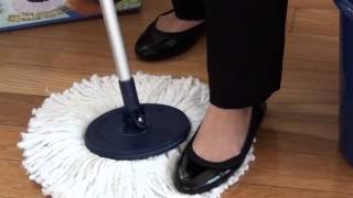 2015 Twist and Shout Mop™ - Removing Mop Head Instructions