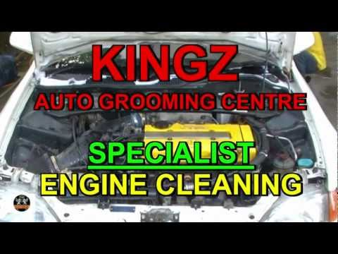 Engine Cleaning (Honda Civic)