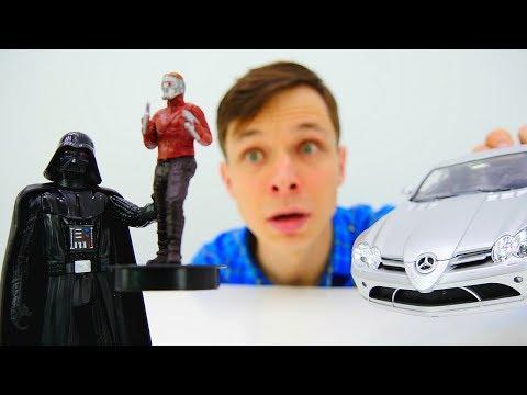 #Машина для Звездного Лорда (Стражи Галактики)! Тест-Драйв с Дартом Вейдером! Игры #ЗвёздныеВойны