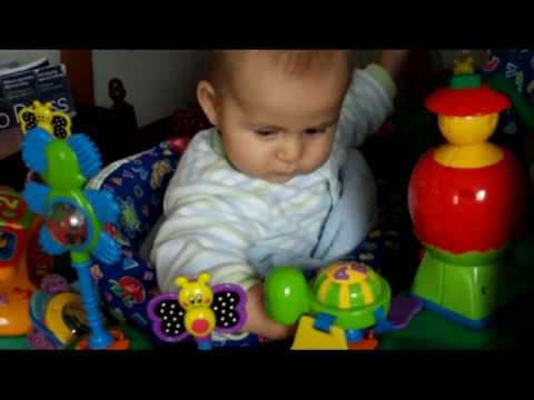 5 Months 2 Weeks Old Baby Playing Youtube