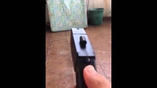 testing taser gun