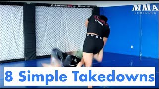 Gambar cover 8 Simple and Effective Takedowns